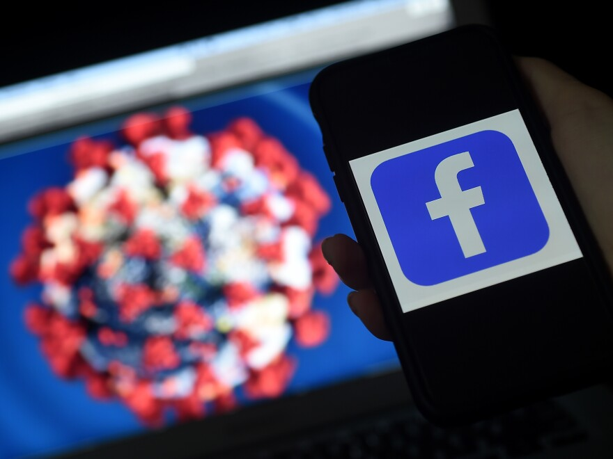 "Facebook says it has removed ""hundreds of thousands"" of pieces of misinformation about COVID-19, including dangerous fake cures and posts contradicting public health advice."