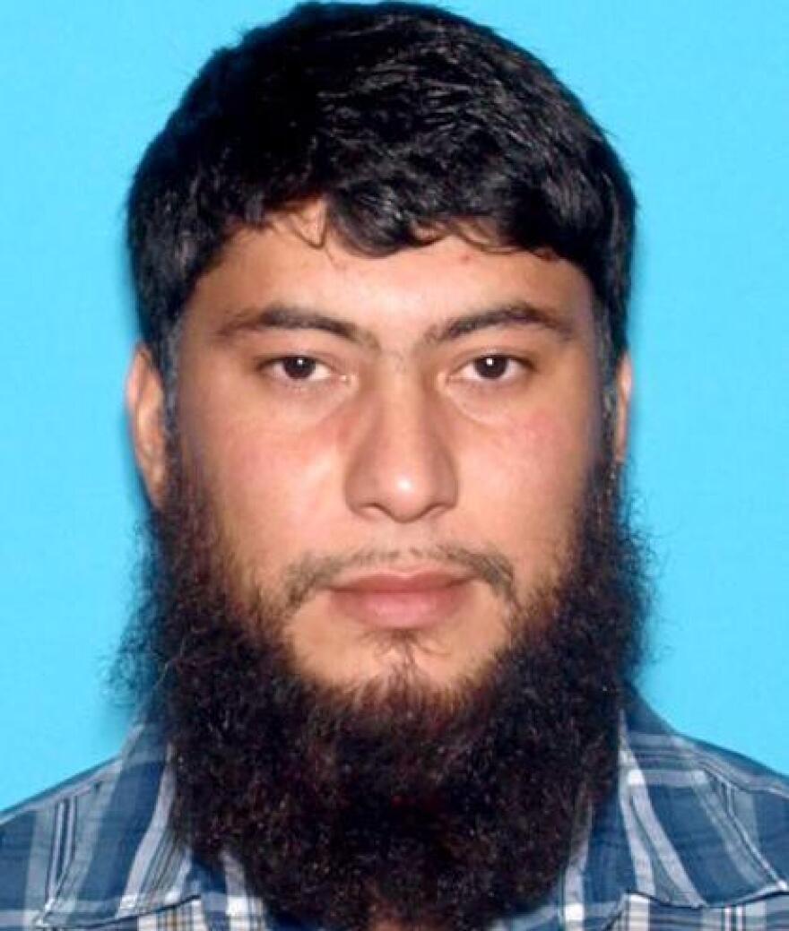 Fazliddin Kurbanov, shown in an undated image provided by the Idaho State Police.
