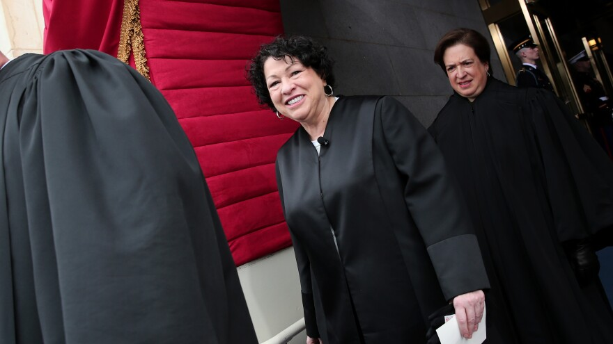 Supreme Court Justice Sonia Sotomayor grilled lawyers arguing the constitutionality of new lethal-injection cocktails.