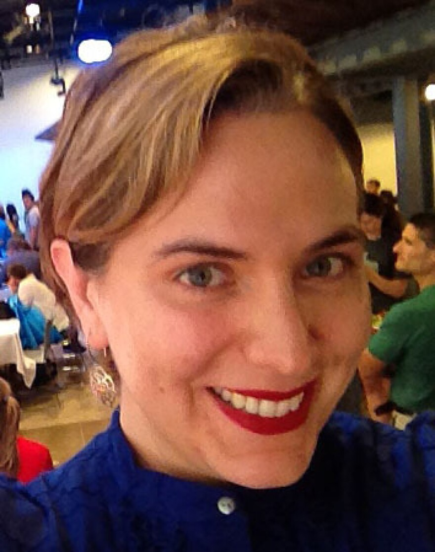 Sara Inés Calderón hopes GapJumpers helps her find a job as a software developer.