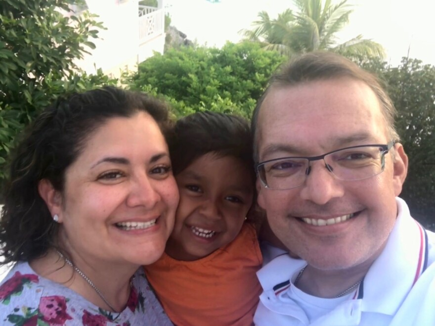 Rachel and Cesar Martinez had been married for 18 years when they welcomed their only child Mia. The couple first met in high school.