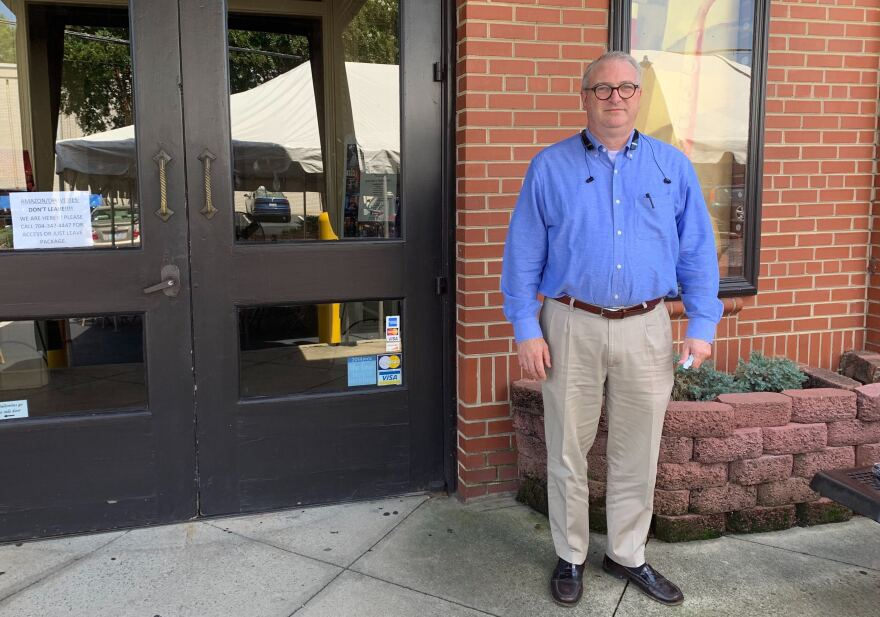Dan Barry is a Union County resident and longtime Republican official. He thinks the staunch Republican exurb outside Charlotte will hold on to its overwhelming support for Trump.