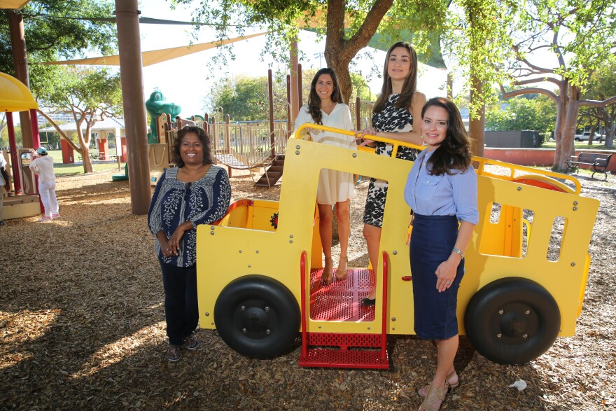 Louisa Conway, Victoria Kenny, Debora Hertfelder and Kate Asturias are leading a charge for daily recess in Miami-Dade elementary schools.