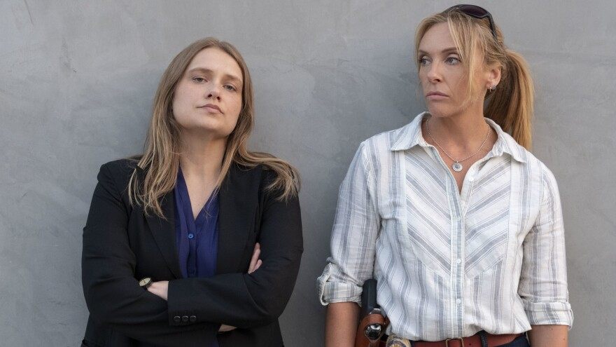 Merritt Wever and Toni Collette play two detectives investigating a series of sexual assaults in the Netflix show <em>Unbelievable</em>.
