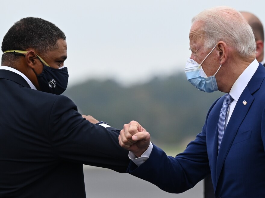 President-elect Joe Biden has tapped Louisiana Rep. Cedric Richmond (left) for a top job in his White House.