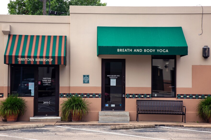 Breath and Body Yoga in Tarrytown is reopening Monday, but the instructors will still be on Zoom.