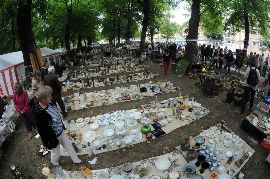 The Braderie de Lille, shown in 2013, is one of the largest flea market in Europe. It takes place on the first weekend of September every year — except this one.