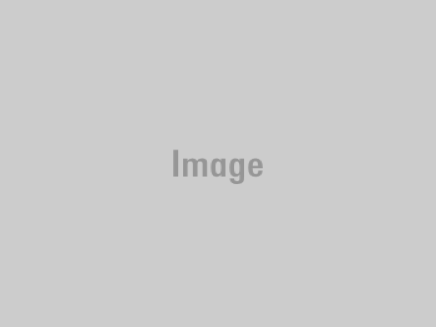 A section of prison blocks at Auschwitz I, where they are laid out on a grid of dirt roads. (Courtesy of Shira Springer)