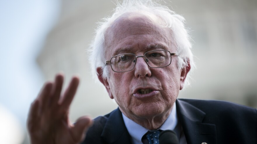 Sen. Bernie Sanders' speech is the type of move that a potential presidential candidate would make in the off years leading up to an election.