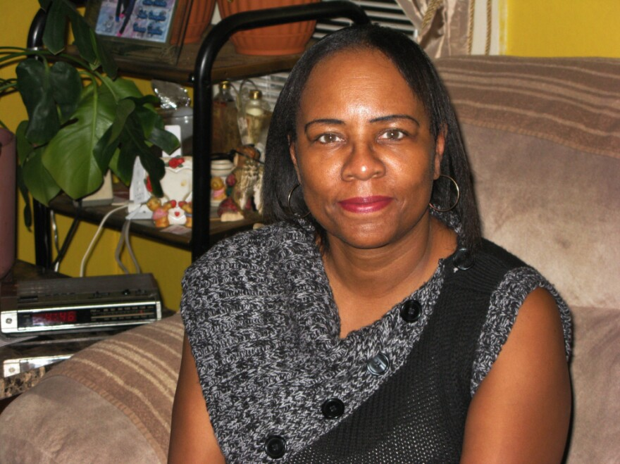 Willa Booker, 53, has been out of work for more than two years. A former medical records administrator in Chicago, Booker says she just wants someone to give her a chance.