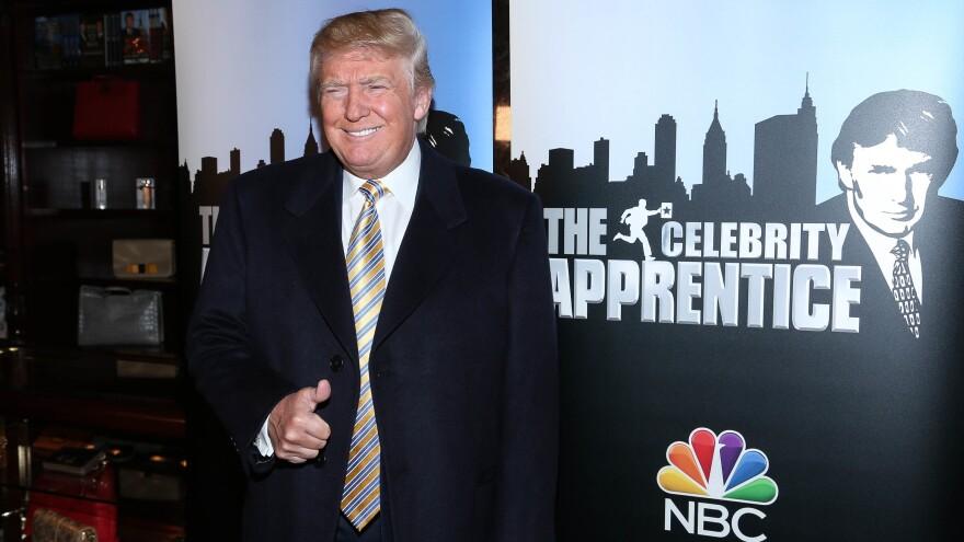 Donald Trump at the <em>Celebrity Apprentice</em> red carpet event on Jan. 20, 2015, in New York City.