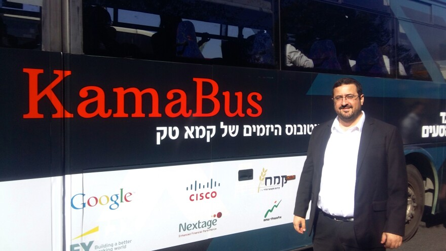 Moshe Friedman is the CEO of KamaTech, a group that helps integrate ultra-Orthodox Jews into Israel's workforce and specifically into its high-tech sector. He comes from an ultra-Orthodox, or <em>haredi,</em> family himself.