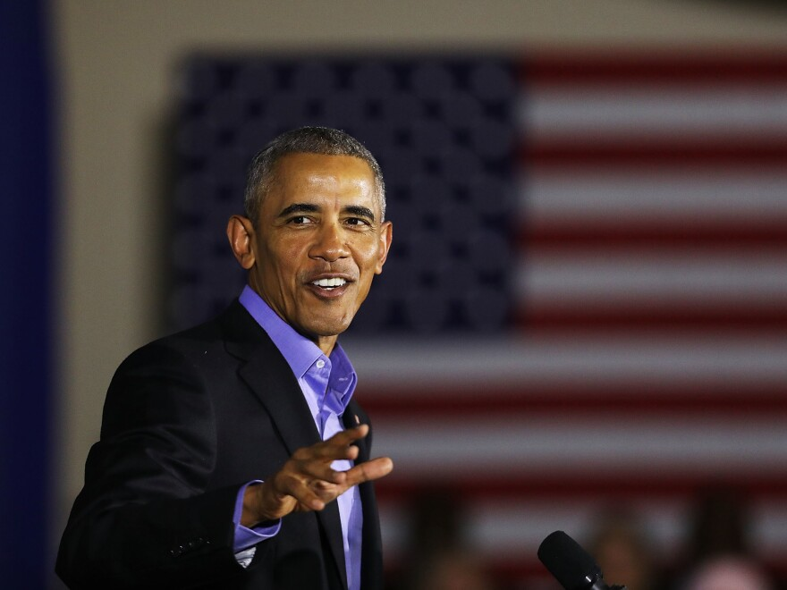 Former President Barack Obama will report for jury duty in Cook County, Ill., in November.