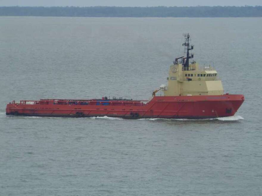 A 2008 photo of the offshore supply ship C-Retriever.