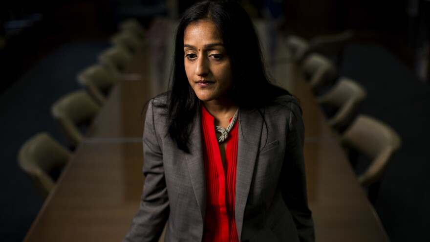 """""""Even when other people in implicit, quiet ways will tell you to know your place, do not stay silent,"""" Vanita Gupta, head of the Civil Rights Division, said recently."""