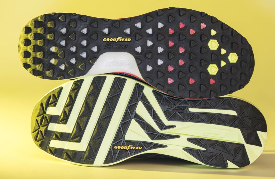 a photo of Goodyear tennis shoes