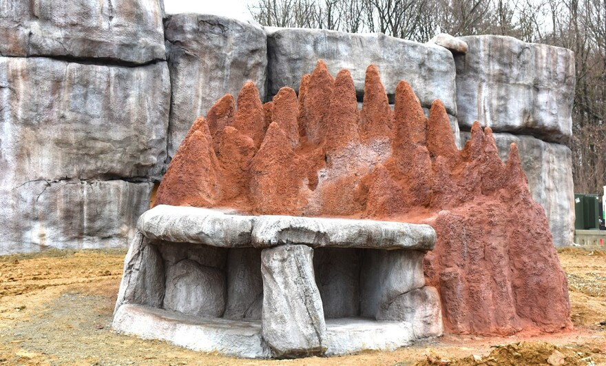 Photo of new Pride of Africa exhibit at the Akron Zoo