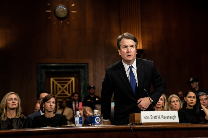 Judge Brett Kavanaugh testified in front of the Senate Judiciary Committee on Thursday.