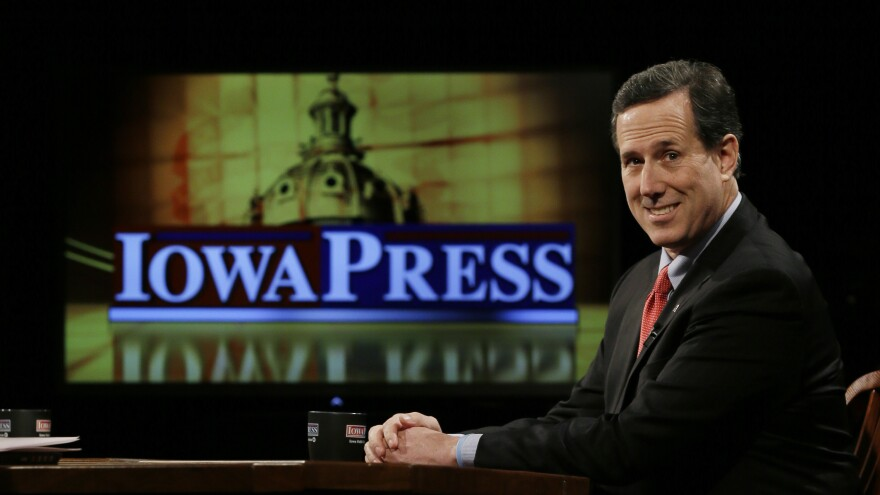 Current Republican presidential hopeful Rick Santorum narrowly won the Iowa caucuses in 2012. However, his luck didn't hold.