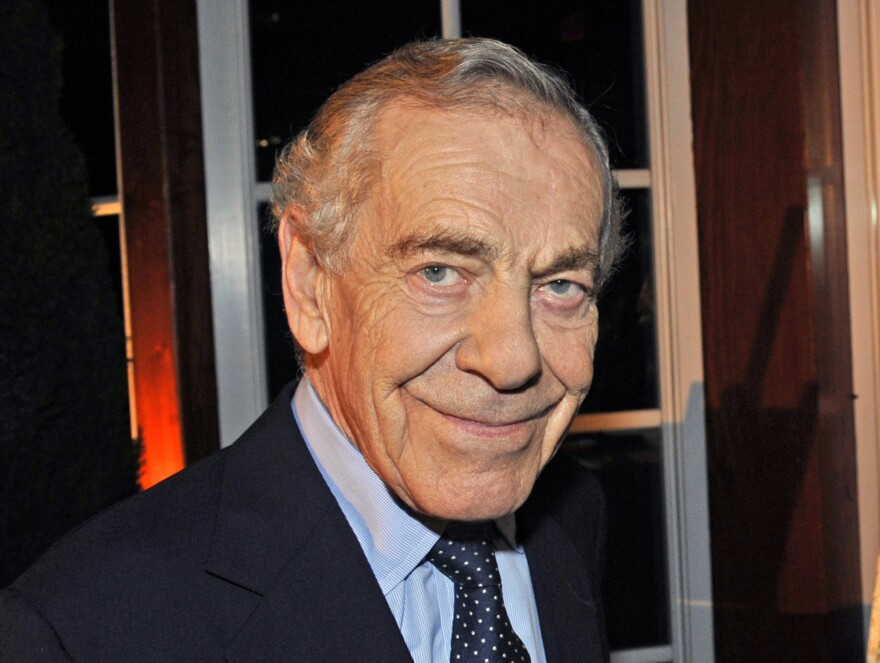 Morley Safer during <em>60 Minutes'</em> 40th anniversary celebration in New York.