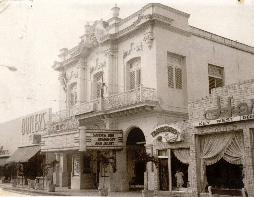 The San Carlos Institute on Duval Street was built by Cuban exiles. After a hurricane in 1919 the Cuban government paid to rebuild the structure. It has been a Cuban consulate, school and movie theater. Today it is a museum and cultural center.