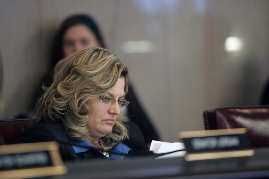 <p>State Sen. Shannon Jones, who introduced Senate Bill 5, argues that if pay and benefits for government workers can be held down, schools and cities can avoid cutbacks. </p>