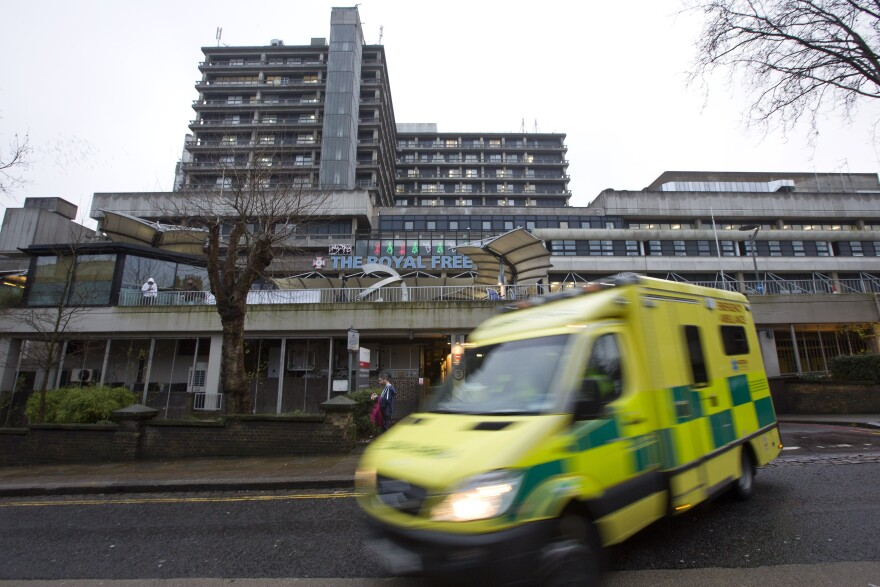 Pauline Cafferkey is now in isolation at the Royal Free Hospital in North London, where she was treated in January for Ebola.