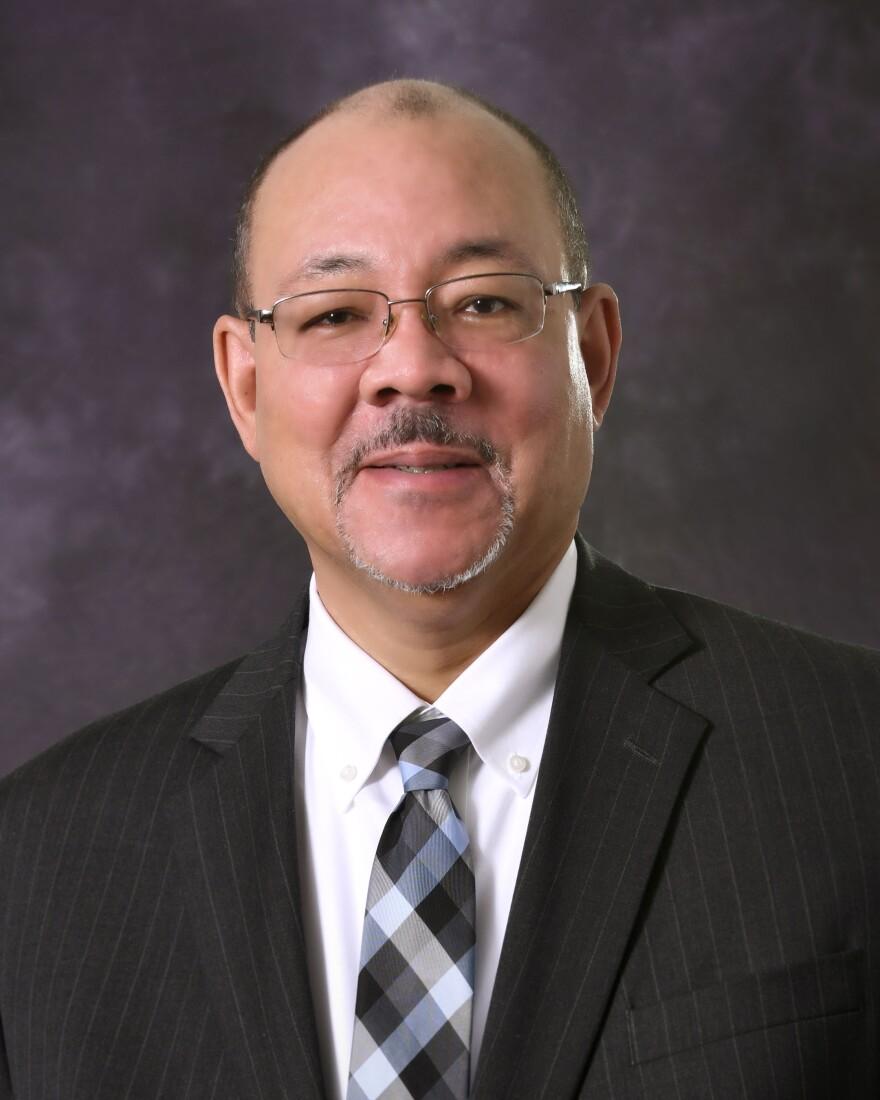 A photo of David James