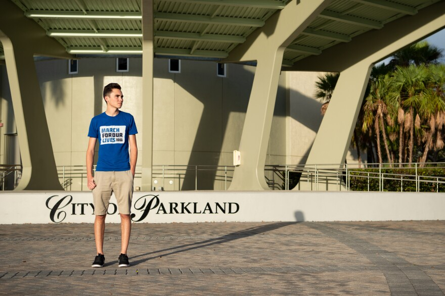 "David Hogg, now a Marjory Stoneman Douglas graduate, has become one of the most prominent figures in the <a href=""https://marchforourlives.com/"">March for Our Lives</a> gun violence prevention movement."