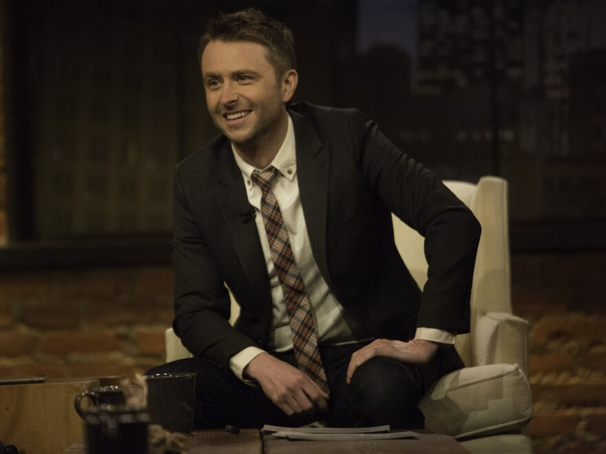 Chris Hardwick was unhappy as the host of a dating show before he embraced his geeky interests and started the Nerdist empire. Now he hosts <em>Talking Dead, </em>shown here, and the new Comedy Central show <em>@midnight.</em>