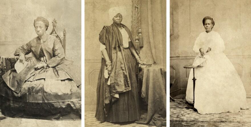 House slaves, 1870, in Salvador de Bahia.