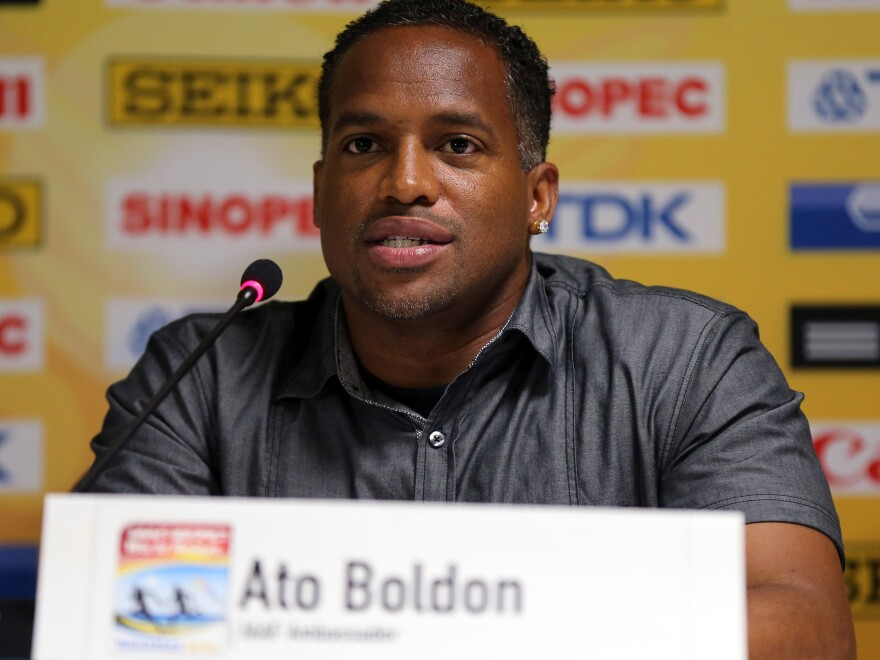 Four-time Olympic medalist for Trinidad and Tobago and NBC Track and Field Ato Boldon says Usain Bolt is the greatest sprinter of all time.
