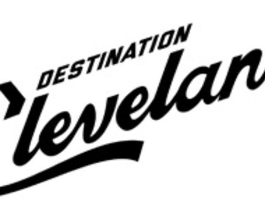 photo of Destination Cleveland logo
