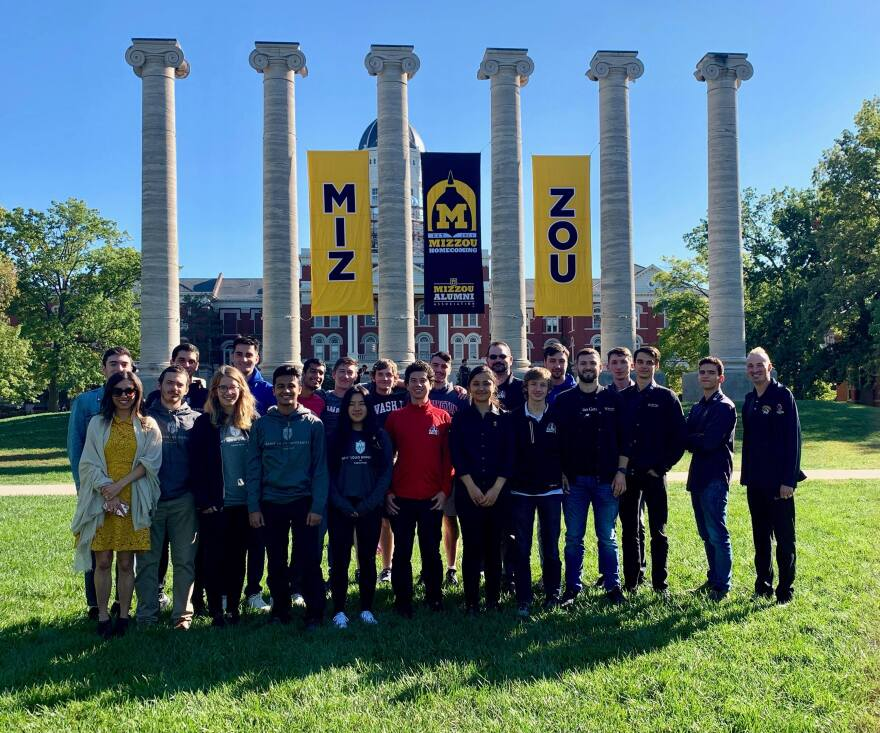 Teams from Mizzou, SLU and Wash U met at the University of Missouri for the new Midwest Collegiate Chess Blitz Championship in Oct. 2019.