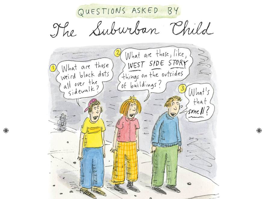 Chast's new book of cartoons was inspired, in part, by her daughter moving to New York City for college.