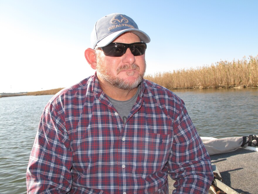Shannon Hartsfield is the fourth generation in a family of seafood workers. He's seen the iconic Apalachicola Bay oyster fishery collapse.
