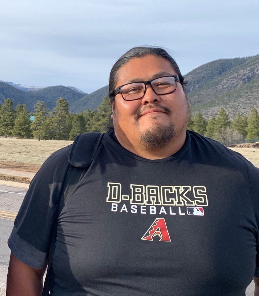 Brett Isaac is one of the founders of Navajo Power, a renewable energy company that's trying to help the tribe shift away from coal.