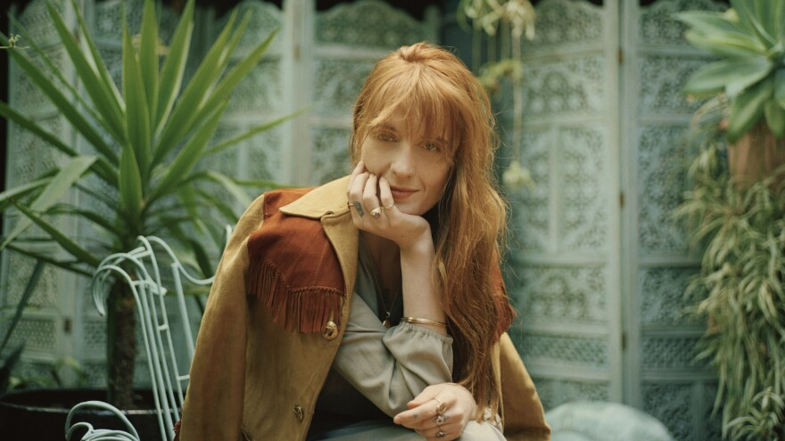 """""""I used metaphor a lot in earlier work to hide what it was that I was actually trying to say,"""" Florence Welch says."""