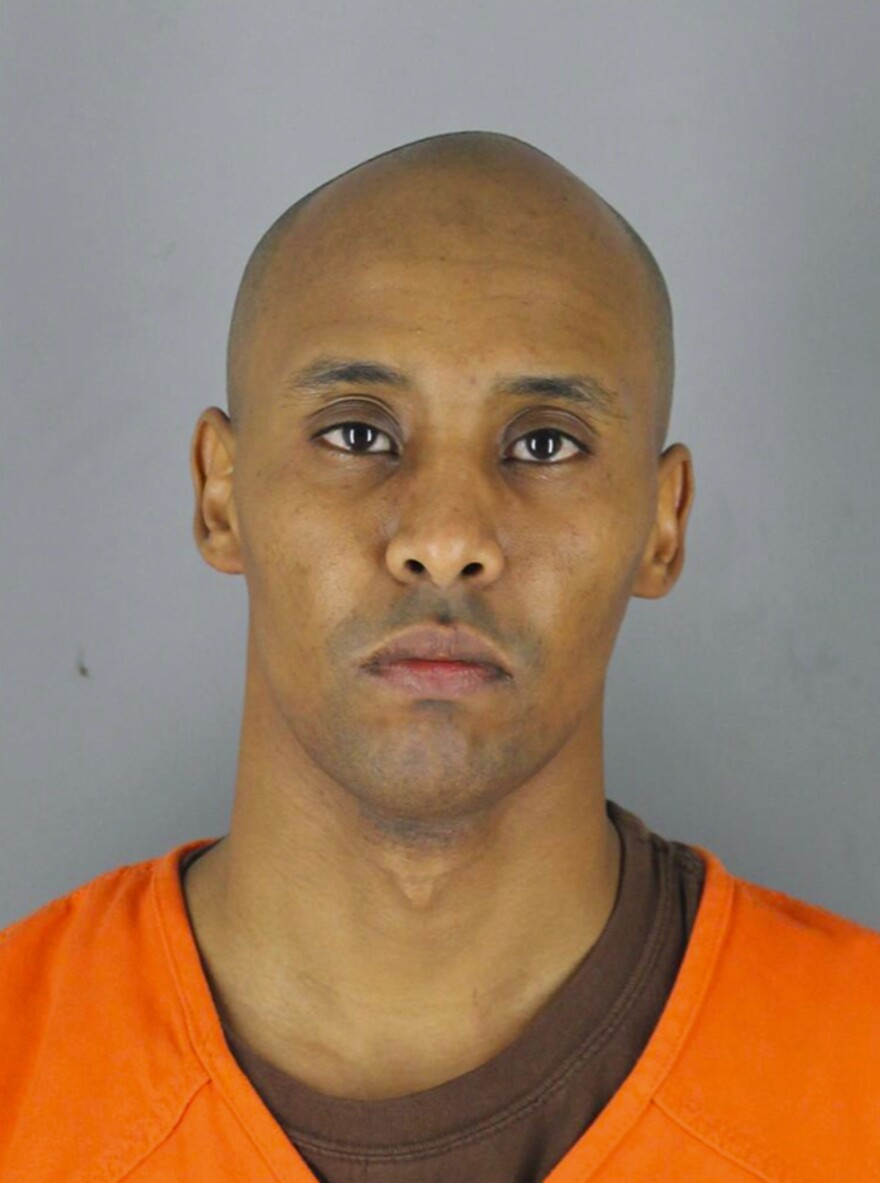 This April 30 booking photo released by Hennepin County Sheriff's Office shows Mohamed Noor after he was convicted of manslaughter in the death of Justine Ruszczyk.