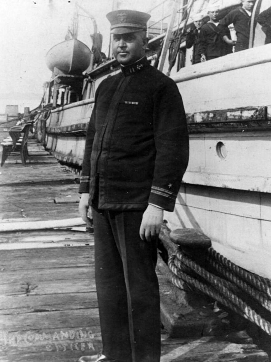 Lt. Ernest L. Jones was the commanding officer of the Conestoga when it sank.