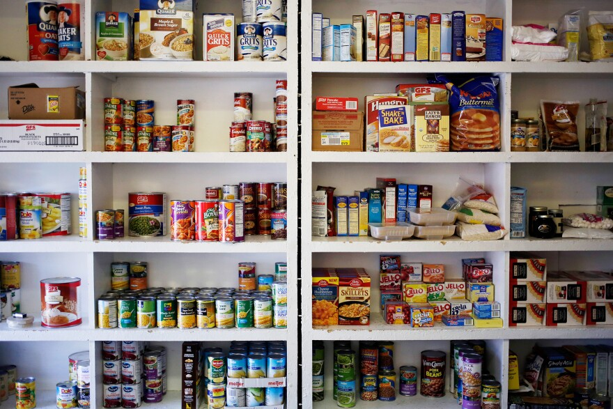 Nearly one-third of households on SNAP, formerly known as food stamps, still have to visit a food pantry to keep themselves fed, according to USDA data.