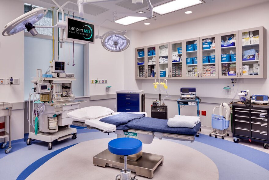 operating room in an ambulatory surgery center