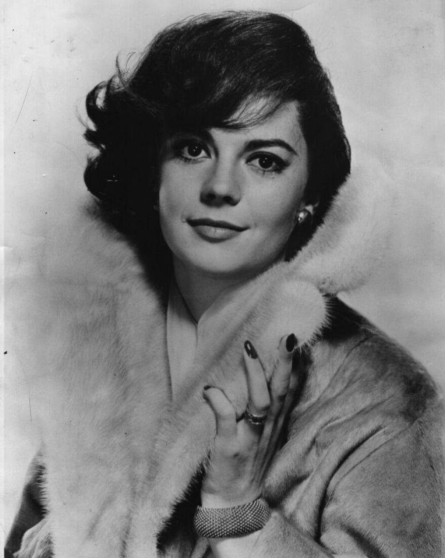 Natalie Wood in 1960.
