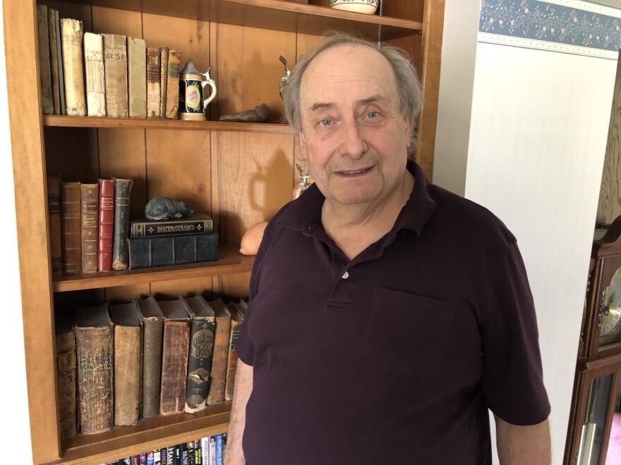 ted albrecht bookshelf