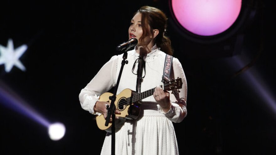 Mandy Harvey, a singer-songwriter who is deaf, is one of the final ten contestants in the latest round of <em>America's Got Talent.</em>