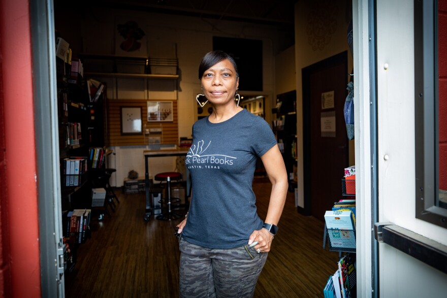 Katrina Brooks, Black Bookstore Owner in Texas, Hopes Focus on Racial Justice Continues After 2020 Protests