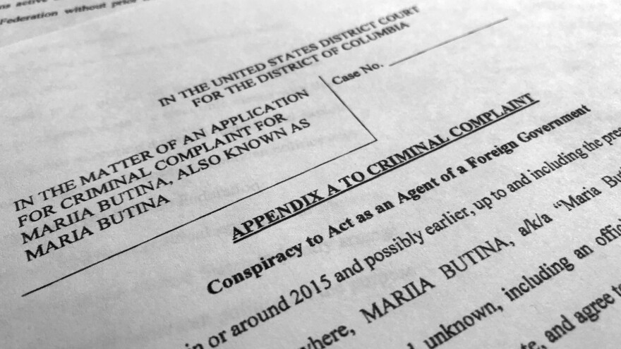 According to court papers unsealed Monday, Maria Butina was the intermediary between Russian government officials and Americans, both in the NRA and elsewhere in politics.