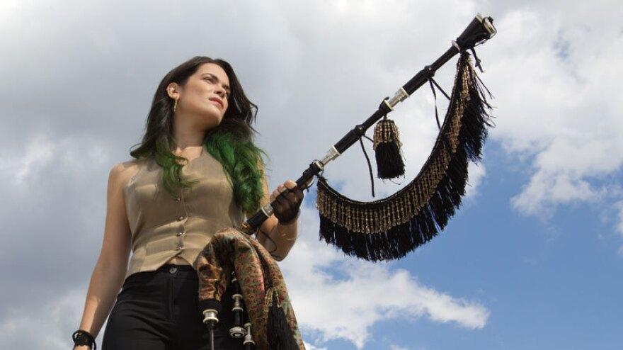 On the new album <em></em><em>Migrations, </em>Cristina Pato plays the <em>gaita</em>, a bagpipe from her native region of Galicia in northwest Spain.