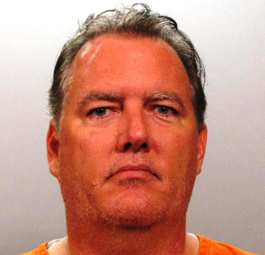 An undated photograph provided by the Jacksonville Sheriff's Office of murder suspect Michael Dunn, 47.