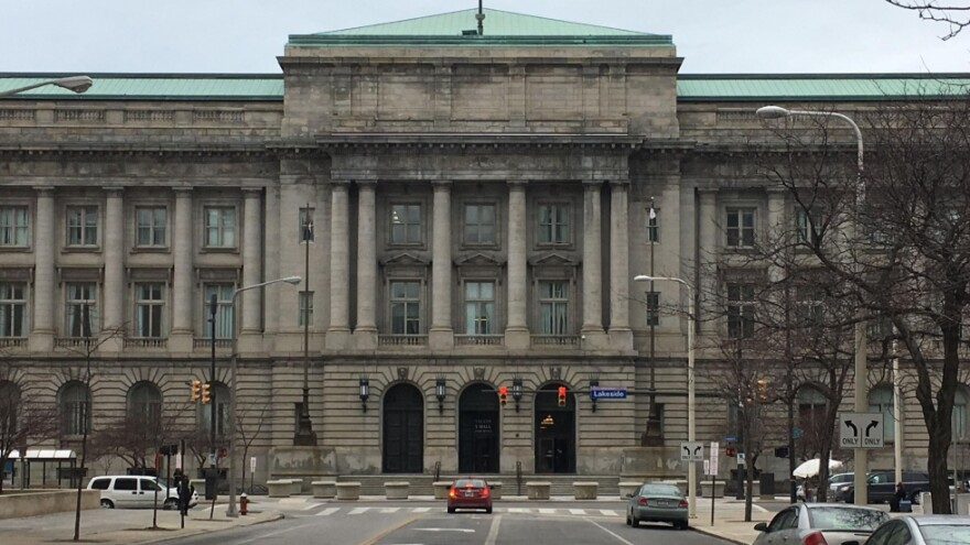 a photo of Cleveland city hall